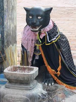Hắc hổ - linh vật trung thành của Thầy - Thím cũng được dân làng tưởng nhớ