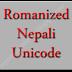 Type in Nepali Unicode - Romanized Nepali Unicode