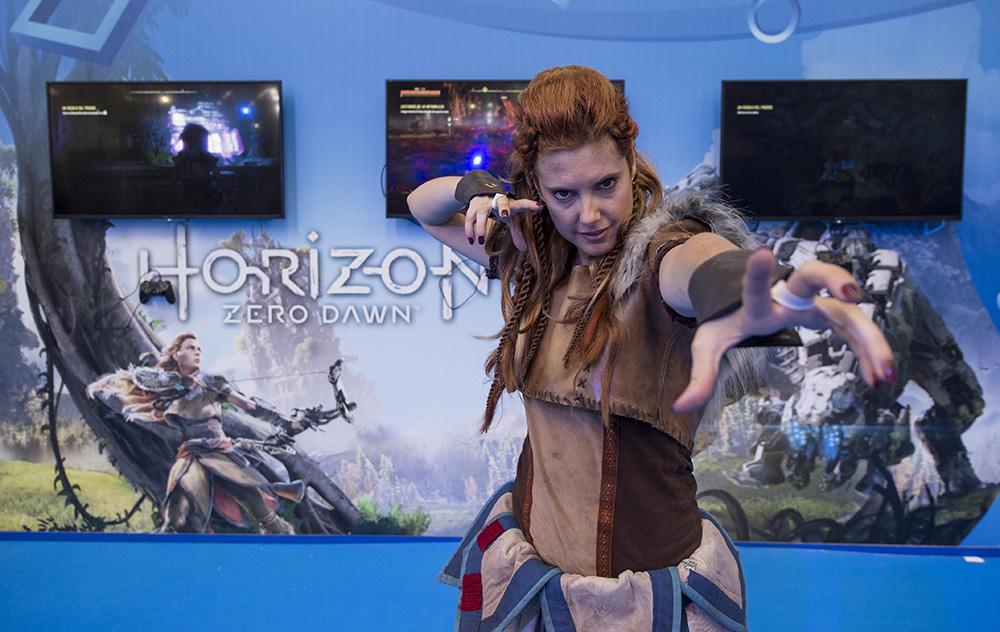 PlayStation inaugura su stand en la Barcelona Games World