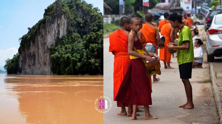 Mekong e giovani monaci