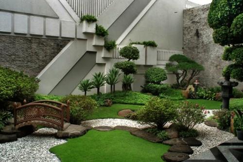 Taman Rumah Minimalis Bergaya Jepang Terbaru 2020