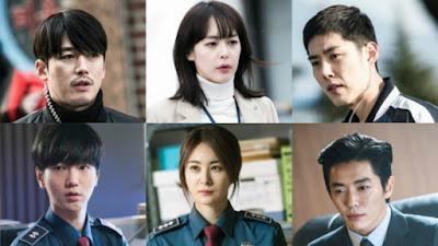 Senarai Pelakon Drama Korea Voice, Watak - Watak Utama Dalam Drama Korea Voice, Jang Hyuk, Lee Ha Na, Kim Jae Wook, Baek Sung Hyun, Yesung (Super Junior), Son Eun Seo, Lee Hae Young