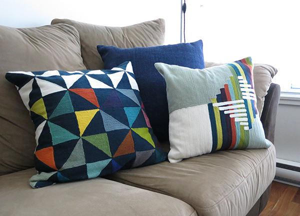 Wallace Sewell x West Elm collaboration throw pillow covers
