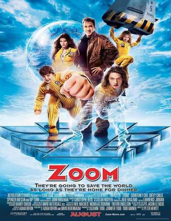 Poster Of Zoom 2006 Dual Audio 720p Web-DL [Hindi - English] ESubs Free Download Watch Online downloadhub.net