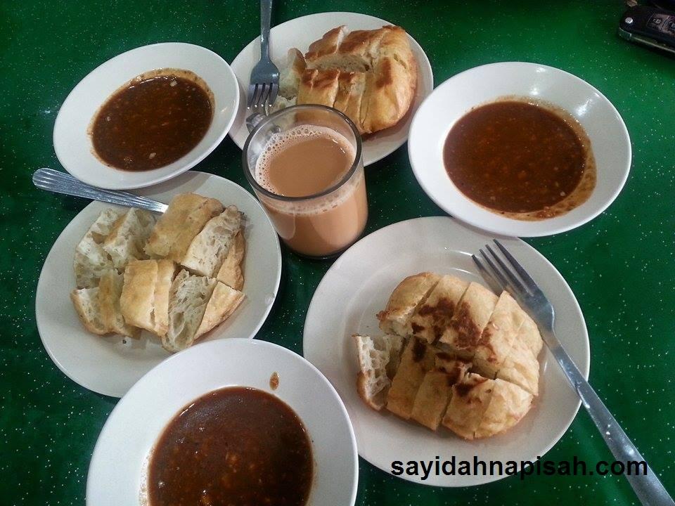 Kundas dan Kuah Kacang di Kuala Kangsar, Perak