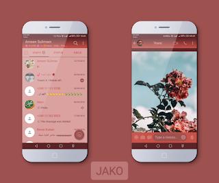 Flowers Theme For YOWhatsApp & Fouad WhatsApp By Jako
