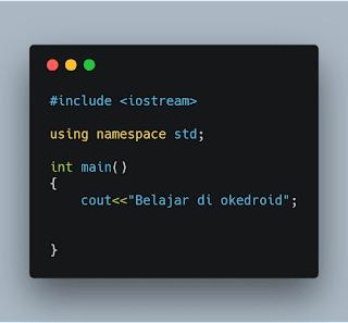 Contoh Code C++