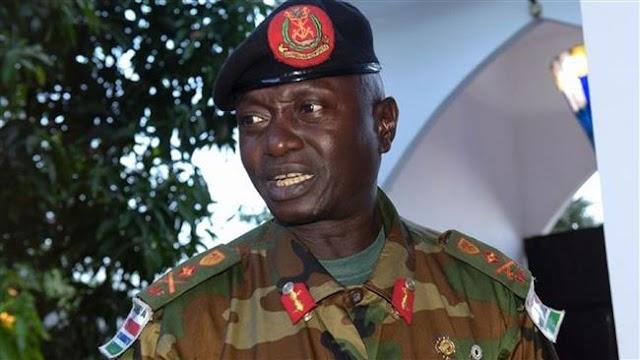 UN bans Gambian army chief, General Ousman Badjie from visiting Sudan's Darfur region