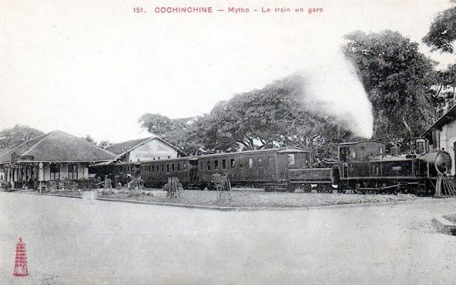 Ga Mỹ Tho năm 1905.
