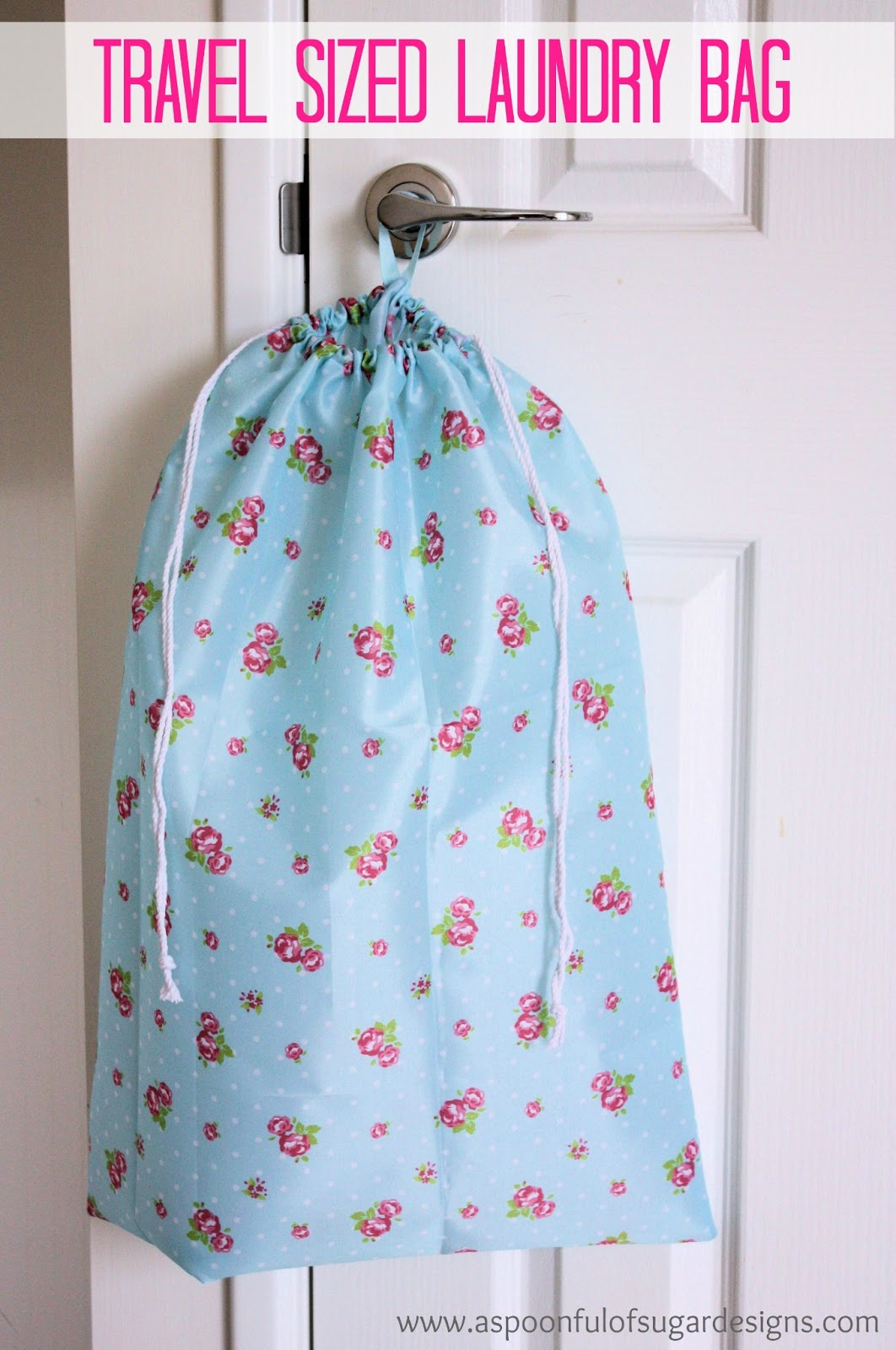 Laundry Clothes Bag How To Make A Laundry Bag A Spoonful Of Sugar
