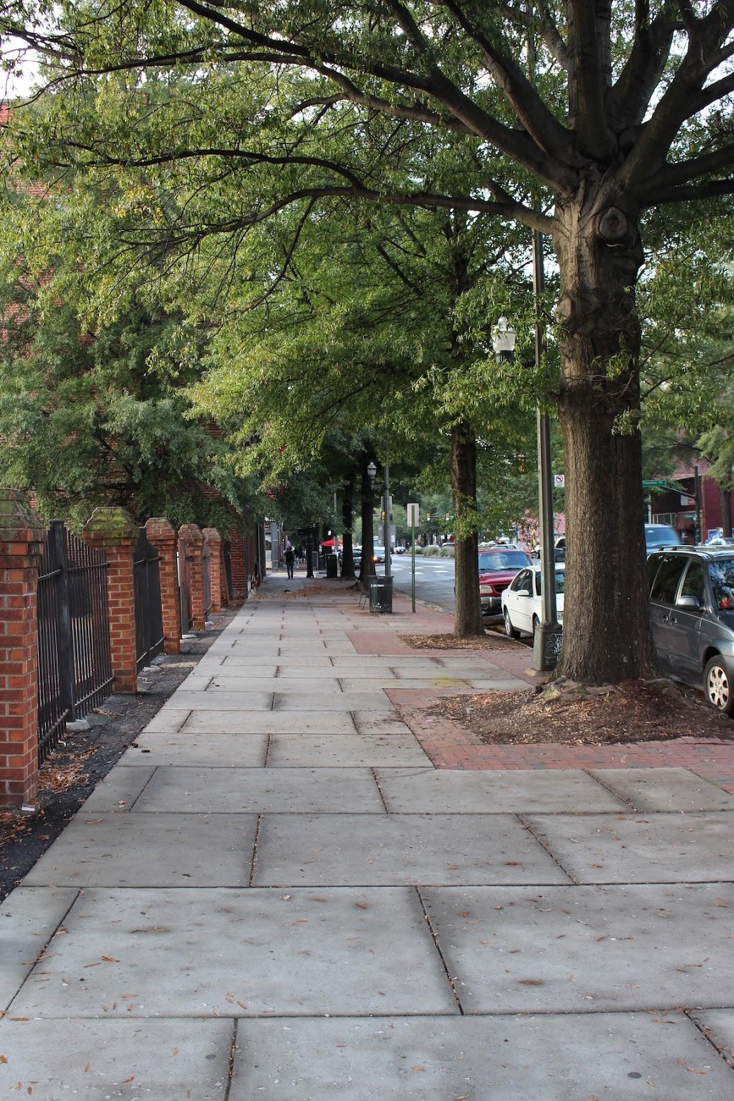 This is a street shot in Richmond Virginia.