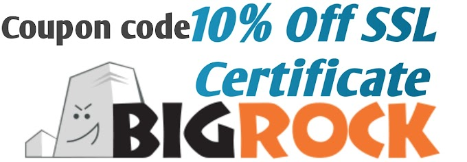 [Big Rock] SSL Coupon Code 10% Off SSL Certificate 2019