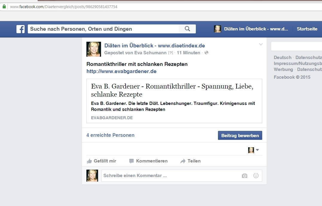 Facebook Beitrag Oben Fixieren