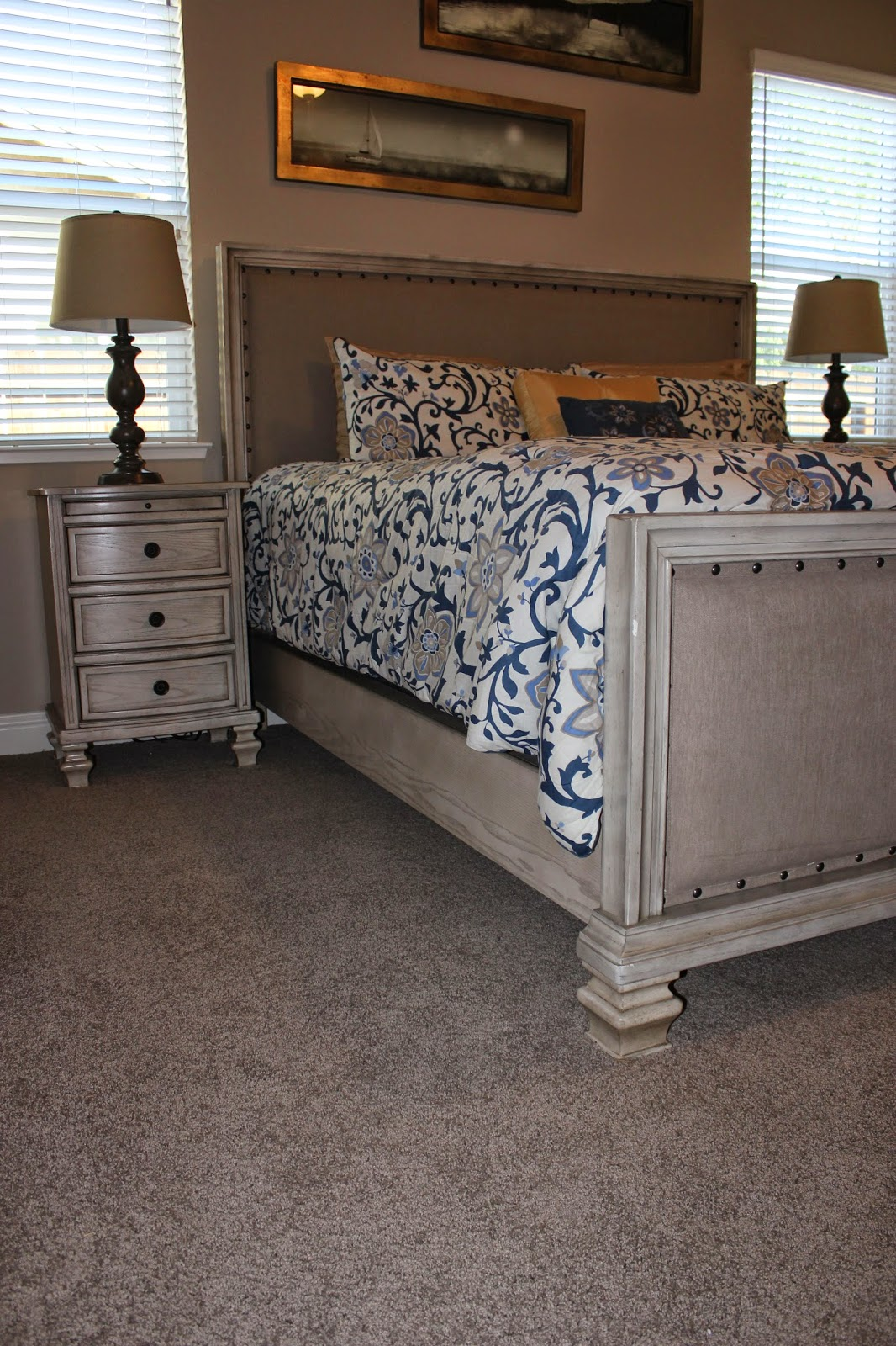 Master Bedroom Featuring Tuftex Carpet By Shaw Floors: Simas Floor And Design Company