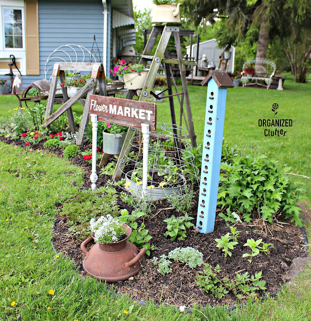 What to Plant in a Junk Garden organizedclutter.net