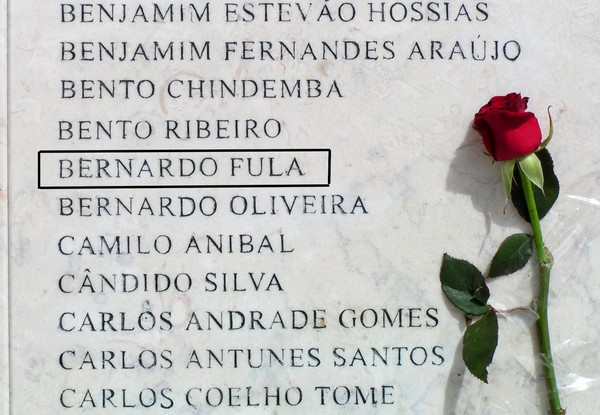 Memorial aos mortos na Guerra Colonial