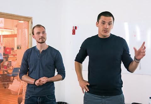 右為ArqVR科技長David Bardos