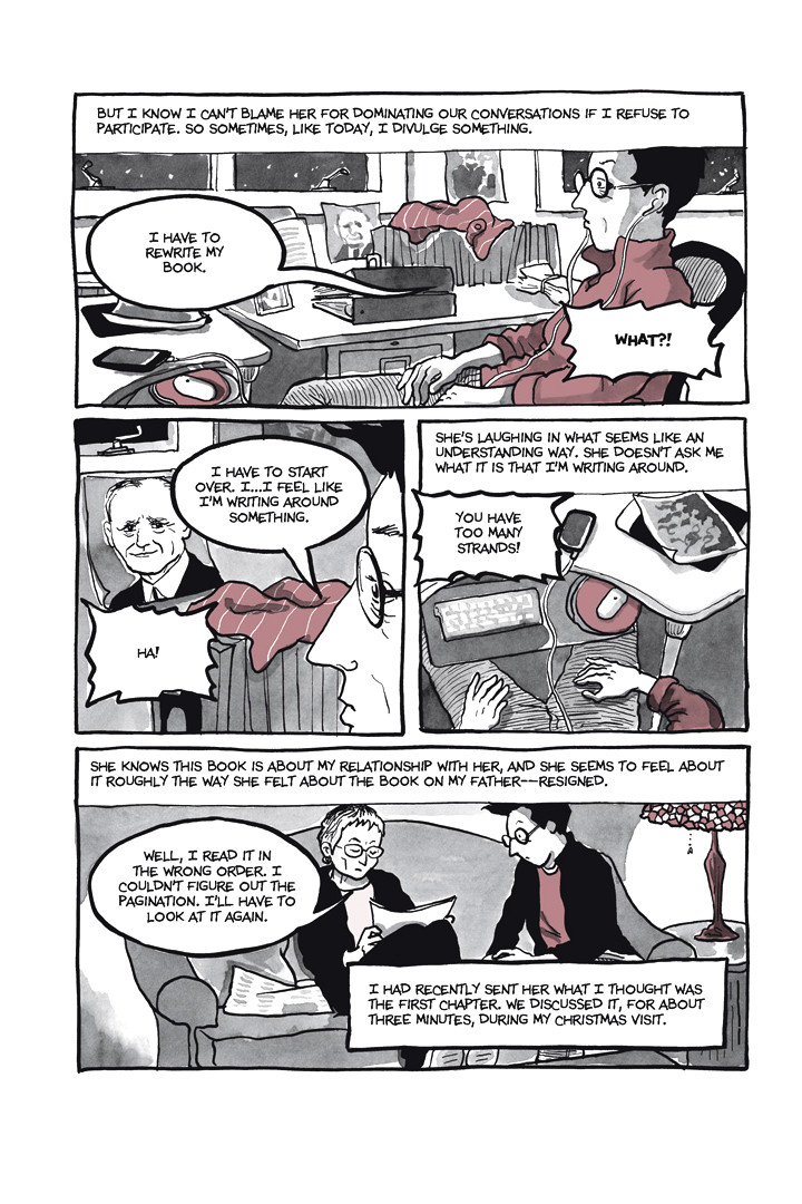 Page 15, Chapter 1: Ordinary Devoted Mother from Alison Bechdel's graphic novel Are You My Mother