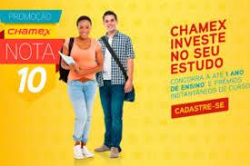 Promoção Chamex Nota 10