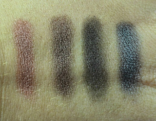Make up Revolution - Eyeshadow palette - eyebrow shades - Disappear till tomorrow - Swatches - review - pearl finish - shimmer finish - matte finish - pressed eyeshadow - bargain eyeshadows - make up - eye make up