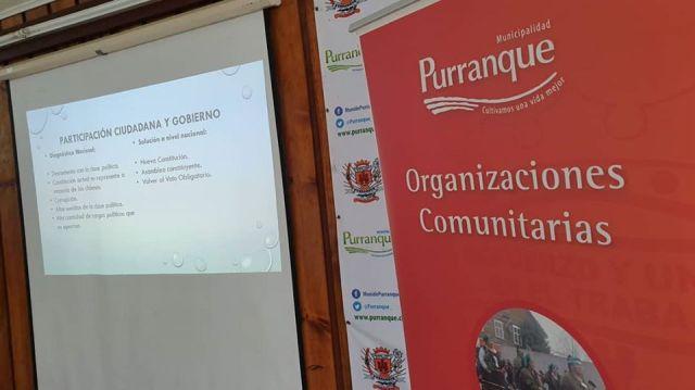 Purranque: llaman a organizaciones comunitarias a actualizar datos