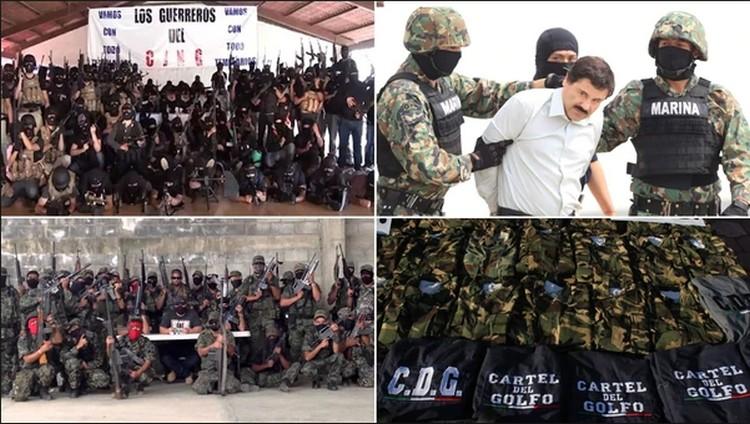 "Cinco historias de ""terror"" de capos mexicanos"