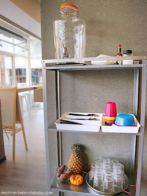 IMG 4309 - 熱血採訪│柒‧柒 手作早午餐。粉紅色販賣機風潮襲捲台中啦!來份豐盛的早午餐,讓你拍照也有粉嫩好氣色!