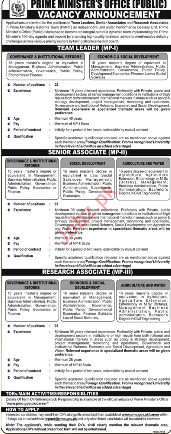 Job in islamabad 2019
