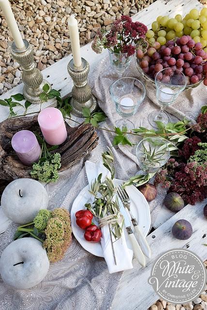 holzschale trockenblumen herbst dekoration ideen küchen interieur