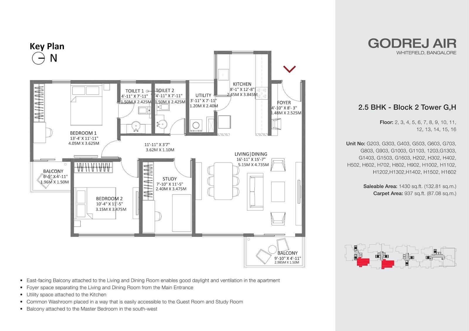 Floor plan godrej air hoodi circle whitefield oxy for Floor plan plus