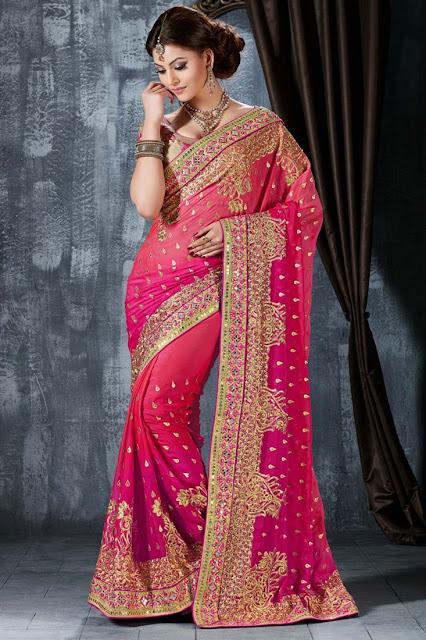 Urvashi Rautela Wedding Wear Designer Saree