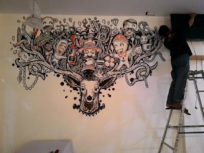 wall painting jogja, jasa mural, jasa wall painting
