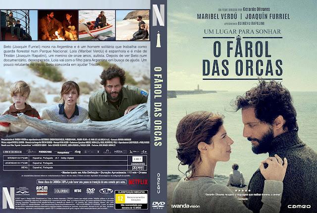Capa DVD O Farol das Orcas [Exclusiva]