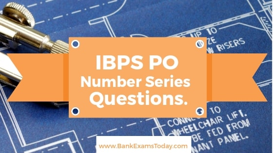 Number Series Questions For IBPS PO