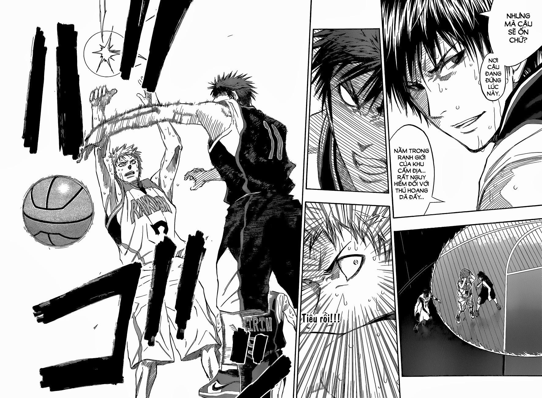 Kuroko No Basket chap 254 trang 12