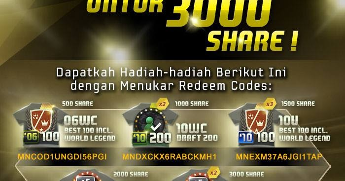 code coupon redeem fifa online 3 indonesia