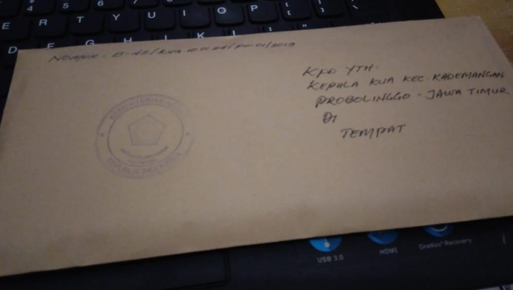 surat numpang nikah