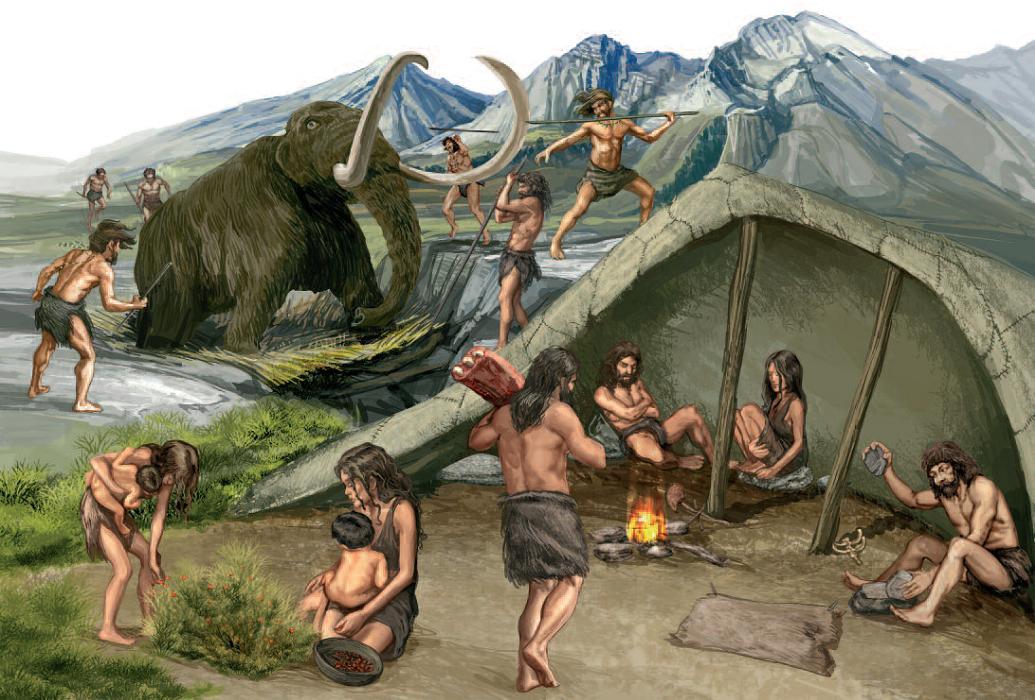 Cimafermin Volvemos a la prehistoria