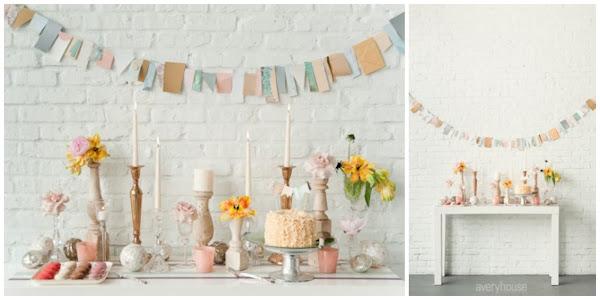 3 ideas para decorar una mesa de dulces decorar tu casa - Ideas para decorar una mesa ...