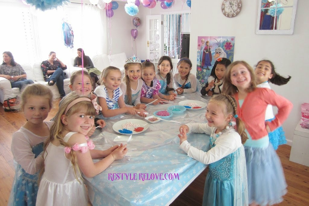 7 Year Old Frozen Birthday Party