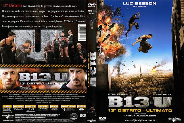 Capa DVD B13-U 13º DISTRITO ULTIMATO