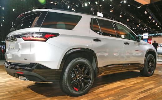 2018 Chevrolet Traverse Price Canada