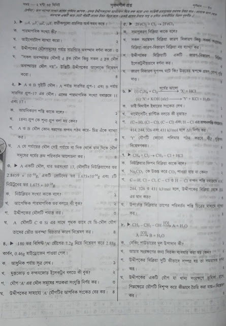 SSC Chemistry Suggestion - 04