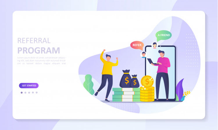 Download Wallpaper People Share Info About Referral and Earn Money