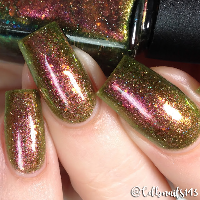 Lollipop Posse Lacquer-She Lives on the Borderline