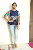 Eesha Looks super cute stunning in Denim Jeans and Top at Darsakudu movie Inerview ~  Exclusive 016.JPG