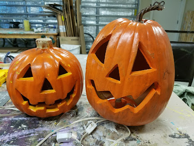 solar light pumpkin easy diy