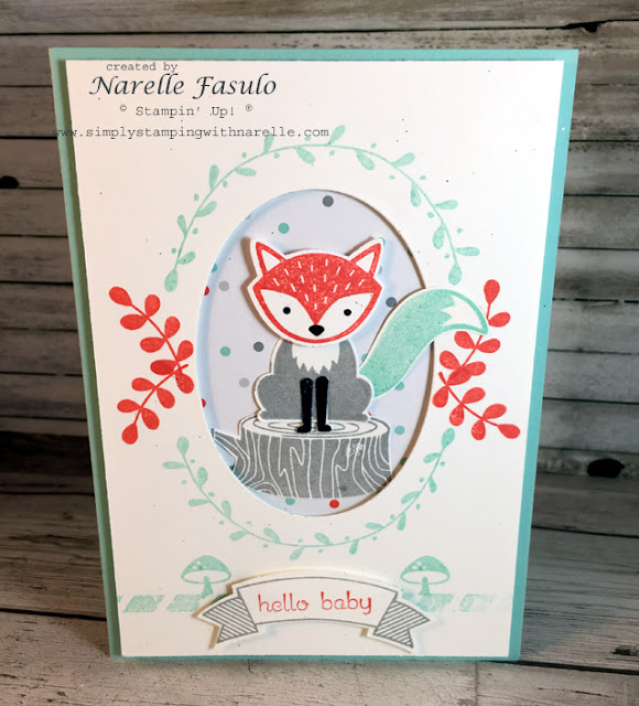 Foxy Friends - Narelle Fasulo - Simply Stamping with Narelle - available here - https://www3.stampinup.com/ECWeb/CategoryPage.aspx?categoryid=31005&dbwsdemoid=4008228