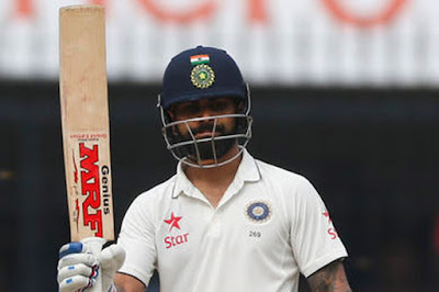 Captain Kohli Hit An Unbeaten 103 in 191 Balls against New Zealand