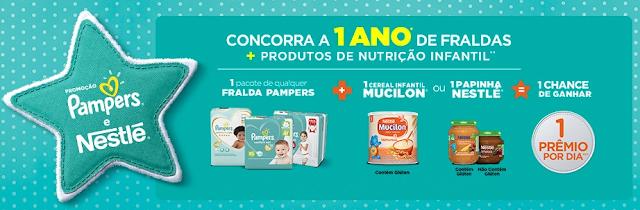 """""""Promoção Pampers e Nestlé"""" Blog Top da Promoção www.topdapromocao.com.br #topdapromocao"""